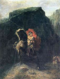 Odilon Redon - Roland at Roncesvalles
