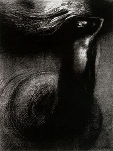 Odilon Redon - Death: My irony surpasses all others!