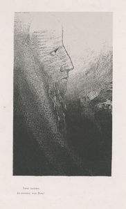 Odilon Redon - Anthony: Help me, O my God! (plate 2)