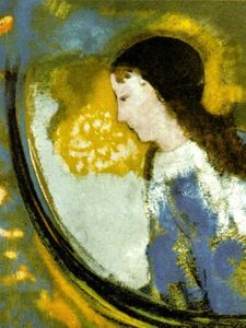 Odilon Redon - The Child In A Sphere Of Light