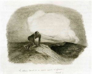 Odilon Redon - The eternal silence of these infinite spaces frightens me