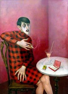 Otto Dix - Portrait of the Journalis..