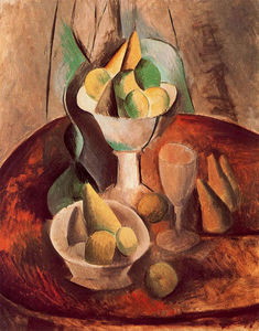 Pablo Picasso - Fruit in a Vase