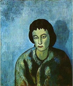 Pablo Picasso - The woman with the edge