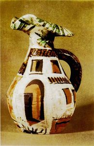 Pablo Picasso - Jug with handle