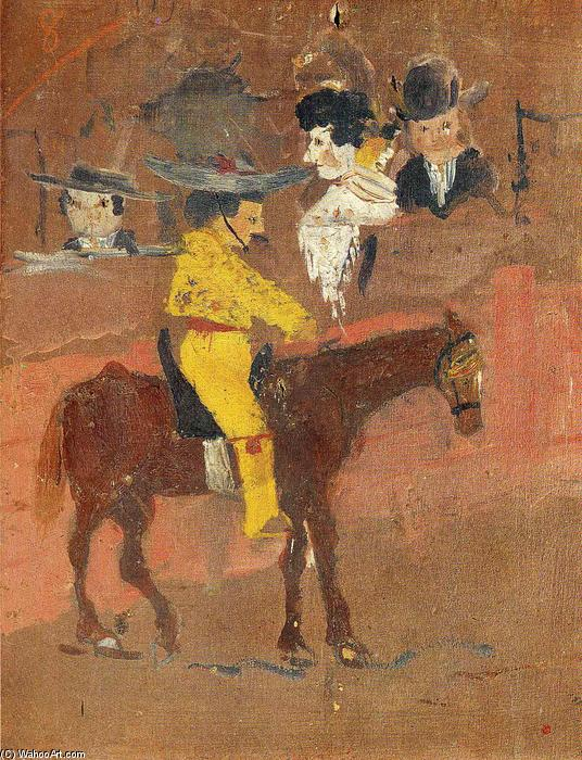 The picador, 1890 by Pablo Picasso (1881-1973, Spain) |  | ArtsDot.com