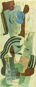 Pablo Picasso - Woman with guitar