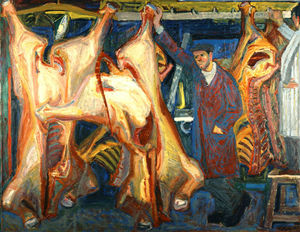 Panayiotis Tetsis - The butcher shop