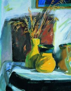 Panayiotis Tetsis - Still life named : The af..