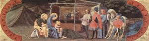Paolo Uccello - Scene Adoration of the Three Kings
