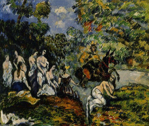 Paul Cezanne - Legendary Scene