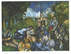 Paul Cezanne - A Lunch on the Grass
