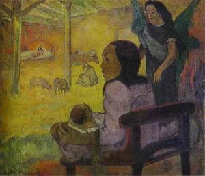 Paul Gauguin - Baby (Nativity of Tahitian Christ)