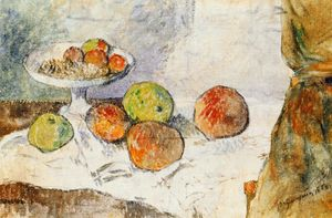 Paul Gauguin - Still life with fruit plate