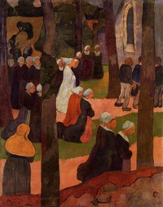 Paul Serusier - A Breton Sunday
