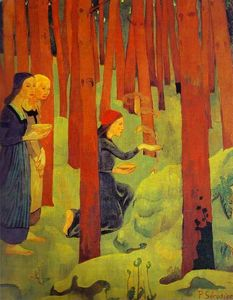 Paul Serusier - The Incantation (The Holy..