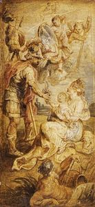 Peter Paul Rubens - The Birth of Henri IV of France