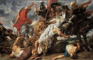 Peter Paul Rubens - The Lion Hunt