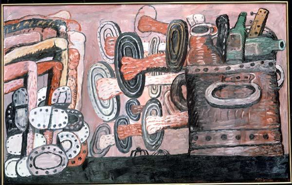 The Street, 1977 by Philip Guston (1913-1980, Canada)