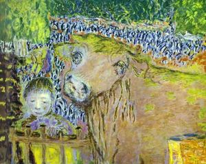 Pierre Bonnard - Bull and Child