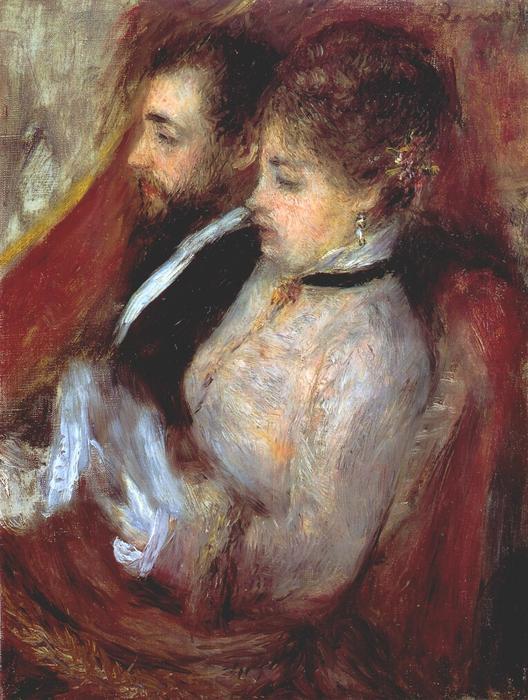 Order Museum Quality Copies | The little theater box, 1874 by Pierre-Auguste Renoir (1841-1919, France) | ArtsDot.com