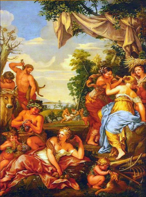 The Copper Age, Oil On Canvas by Pietro Da Cortona (1596-1669, Italy)