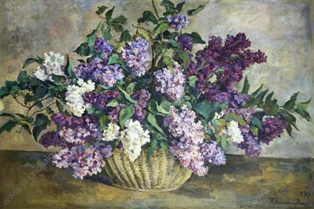 Still Life. Lilacs., 1937 by Pyotr Konchalovsky (1876-1956, Russia) | Art Reproduction | ArtsDot.com