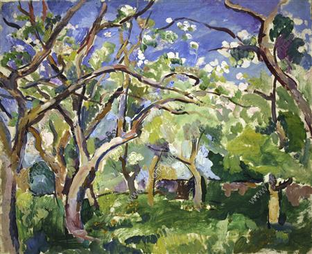 Fruit Trees, 1922 by Pyotr Konchalovsky (1876-1956, Russia)