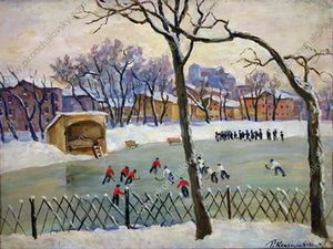 Pyotr Konchalovsky - At the rink
