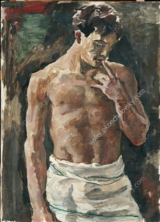 Torso of young men, 1936 by Pyotr Konchalovsky (1876-1956, Russia) | Art Reproduction | ArtsDot.com