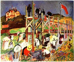 Raoul Dufy - The Jetty at Sainte-Adresse