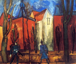 Raoul Dufy - Houses in Munich
