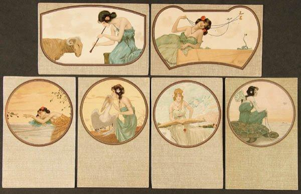 Fables, 1903 by Raphael Kirchner (1875-1917, Austria) | Museum Quality Reproductions | ArtsDot.com
