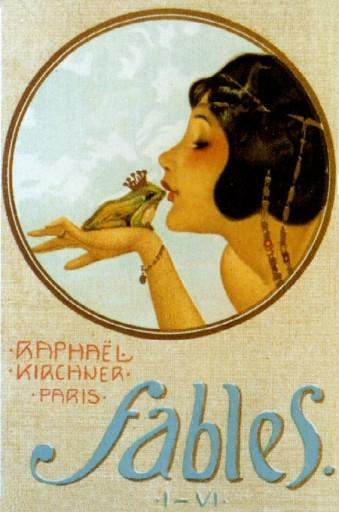 Fables, 1903 by Raphael Kirchner (1875-1917, Austria)