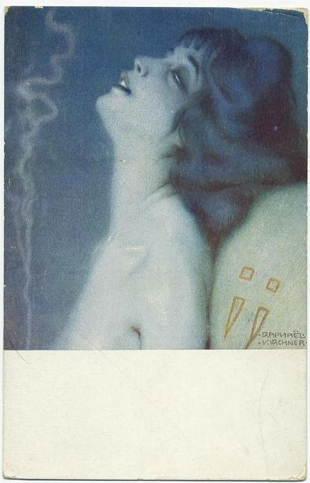 Front cover illustration, Lithography by Raphael Kirchner (1875-1917, Austria)