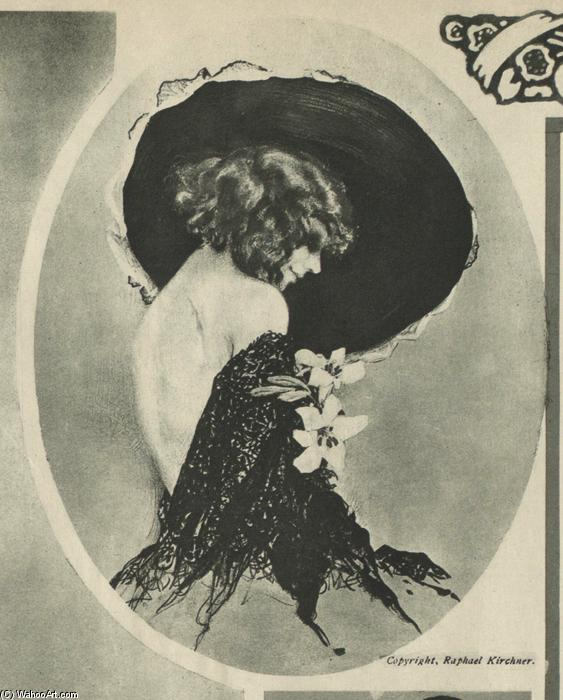 New York Tribune, 1916 by Raphael Kirchner (1875-1917, Austria)
