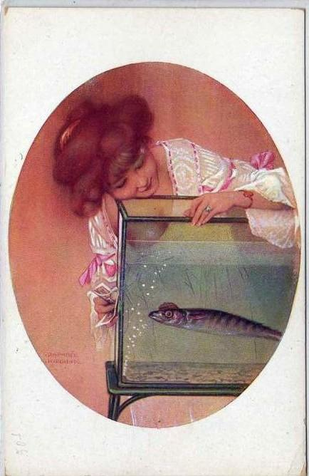 April Fool by Raphael Kirchner (1875-1917, Austria) | Museum Art Reproductions | ArtsDot.com