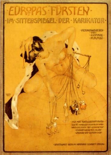 Europe's princes by Raphael Kirchner (1875-1917, Austria)