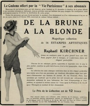 From Brown to Blonde by Raphael Kirchner (1875-1917, Austria)