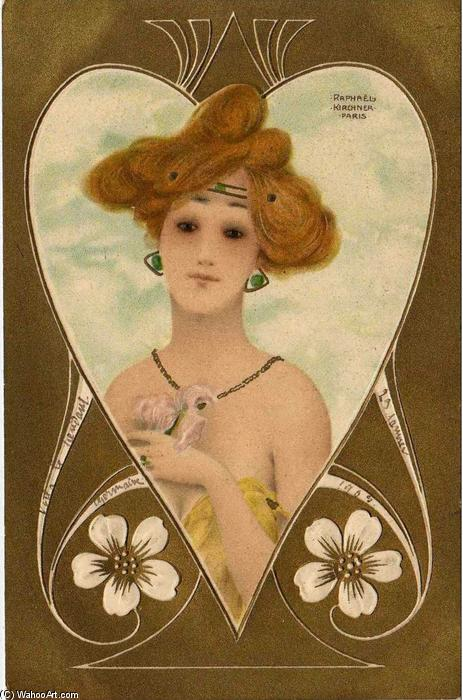Jewellery by Raphael Kirchner (1875-1917, Austria) | Museum Quality Reproductions | ArtsDot.com