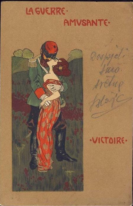 Victory by Raphael Kirchner (1875-1917, Austria)