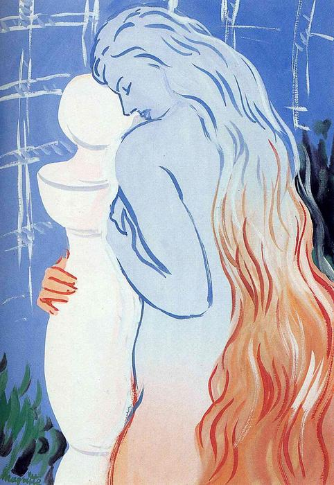 Depths of pleasure, 1948 by Rene Magritte (1898-1967, Belgium) | Museum Quality Reproductions | ArtsDot.com