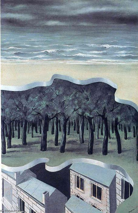 Popular panorama, Oil On Canvas by Rene Magritte (1898-1967, Belgium)