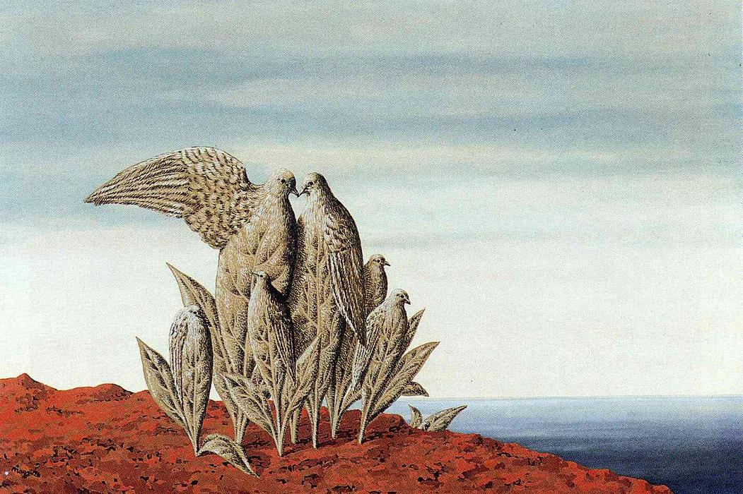 Island of Treasures, 1942 by Rene Magritte (1898-1967, Belgium) | Museum Quality Reproductions | ArtsDot.com