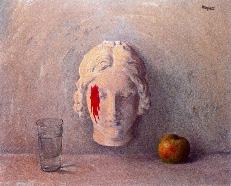 Memory, Oil On Canvas by Rene Magritte (1898-1967, Belgium)