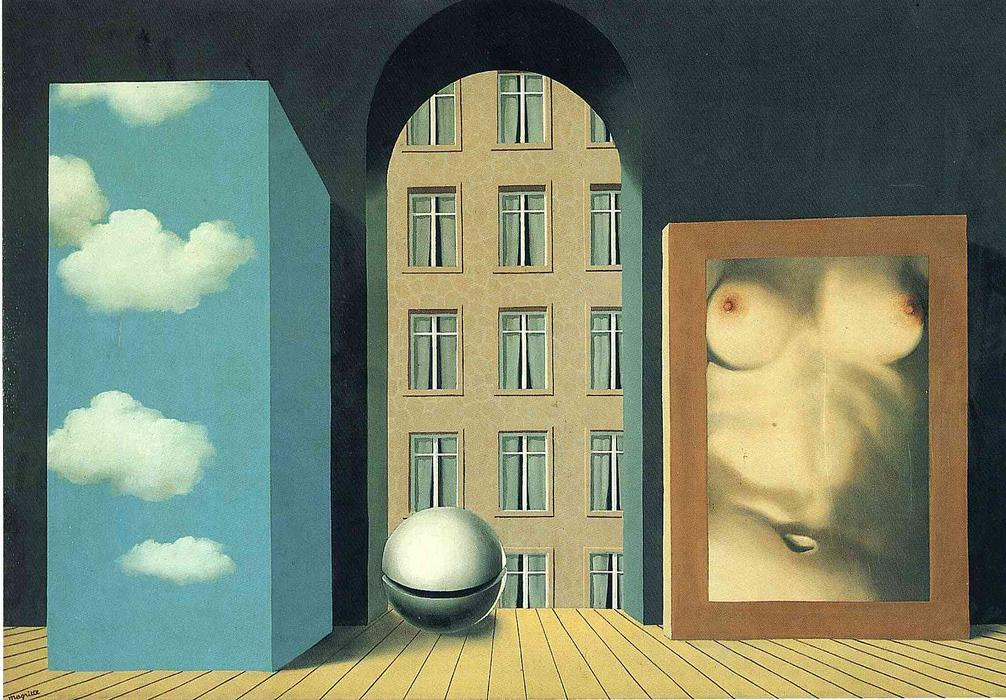 Act of violence, 1932 by Rene Magritte (1898-1967, Belgium)