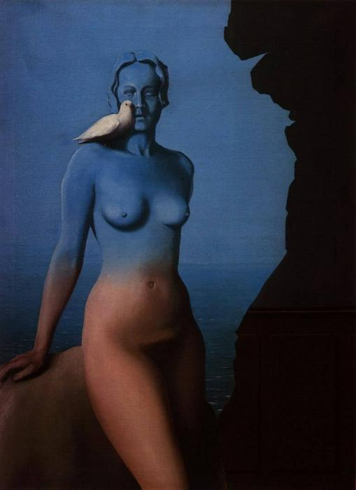 Black Magic, Oil On Canvas by Rene Magritte (1898-1967, Belgium)