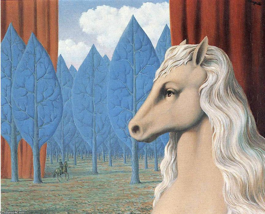 Pure reason, 1948 by Rene Magritte (1898-1967, Belgium)
