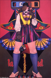 Richard Lindner - Disneyland