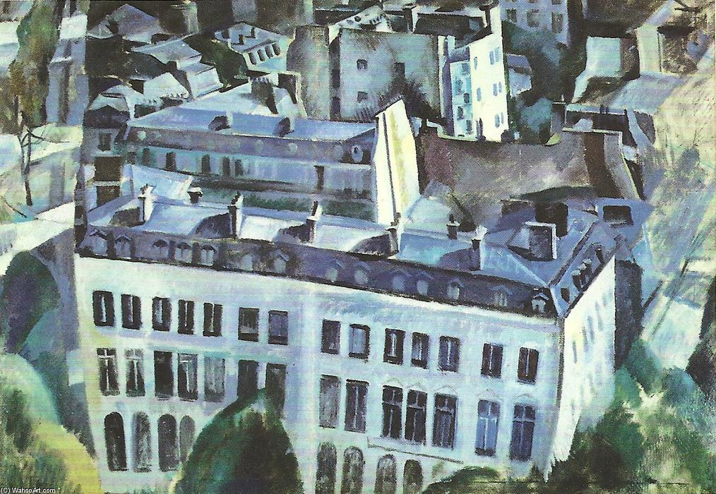 Study for The City, 1910 by Robert Delaunay (1885-1941, France)